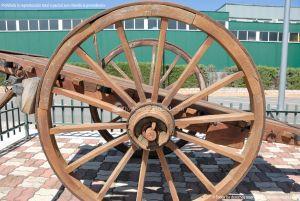 Foto Antigua maquinaria agrícola de Navas del Rey 12