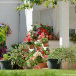Foto Casa decorada con geranios en Guadalix 3