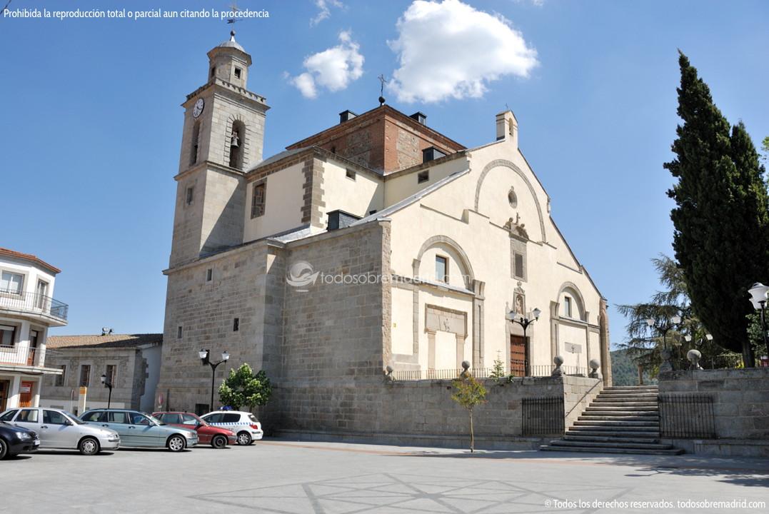 Foto iglesia de san mart n obispo de san martin de for Piscina climatizada san martin de valdeiglesias
