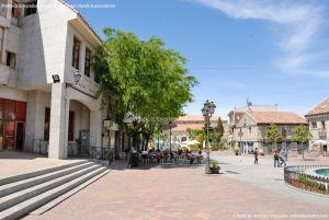 Foto Plaza de la Constitución de Galapagar 13