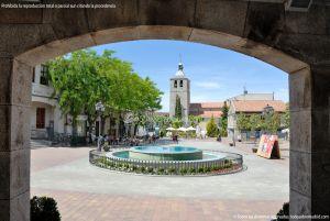 Foto Plaza de la Constitución de Galapagar 17