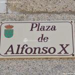Foto Plaza de Alfonso X 1