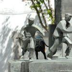 Foto Escultura Homenaje a los Encierros 10