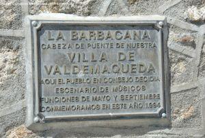 Foto La Barbacana de la Villa de Valdemaqueda 8