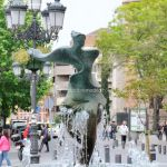 Foto Fuente y Escultura Plaza de España 2