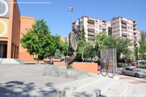 Foto Escultura Buero Vallejo 4