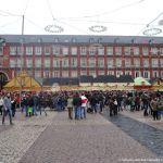 Foto Plaza Mayor de Madrid en Navidad 1
