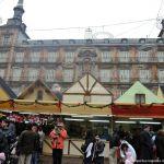 Foto Plaza Mayor de Madrid en Navidad 2