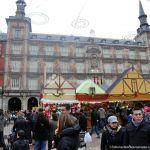 Foto Plaza Mayor de Madrid en Navidad 6