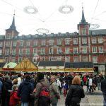 Foto Plaza Mayor de Madrid en Navidad 7