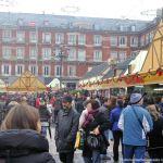 Foto Plaza Mayor de Madrid en Navidad 9